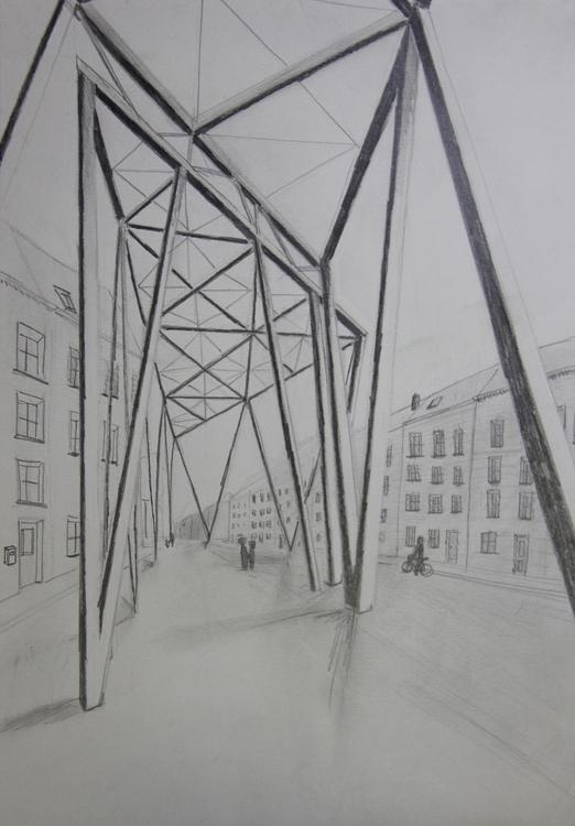 Sketch city hall Ghent - tjorvenrappelet | ello