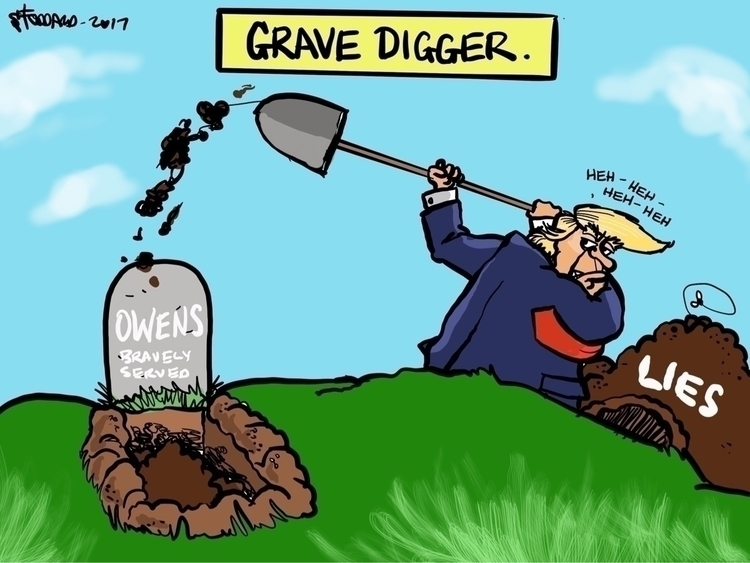 Grave Digger - illustration,, editorial, - sstoddard | ello