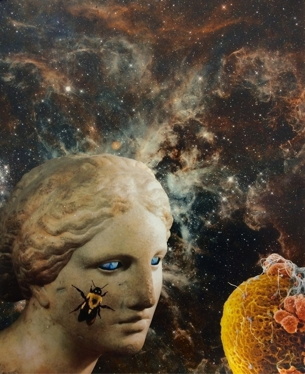 collage, surreal, cosmic, ellocollage - williamgaylorpeters | ello