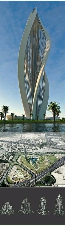 Aquitectera Blossoming - Dubai, lines - kumarajeet12 | ello