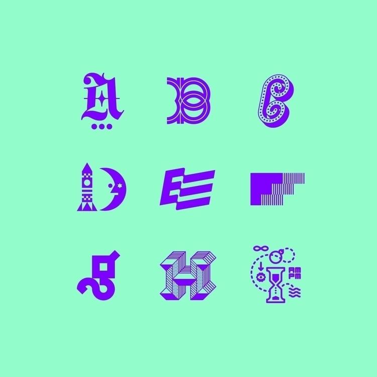 compilation 36 Days Type. marks - jepcreative | ello
