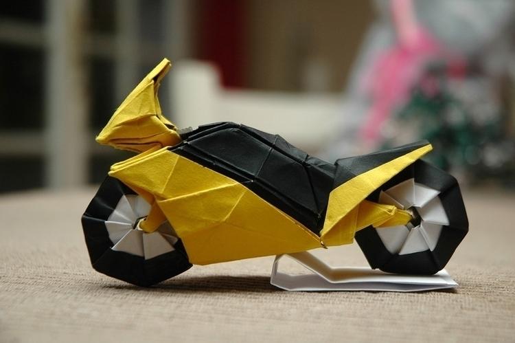 Harley Wait Show Origami Vehicl - origamidotme | ello