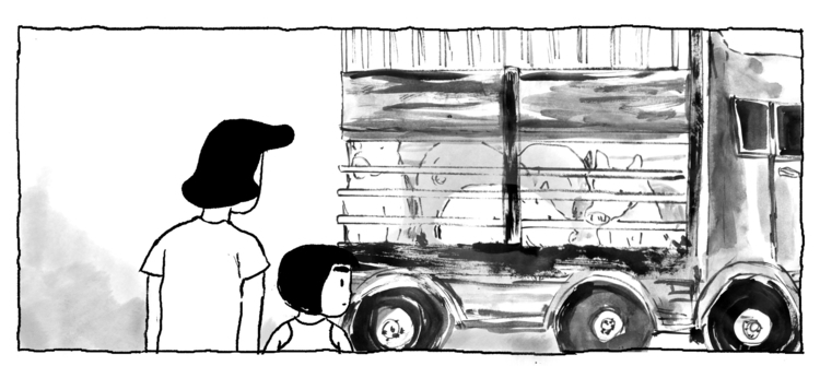 pig trucks street route slaught - makeshiftlove | ello