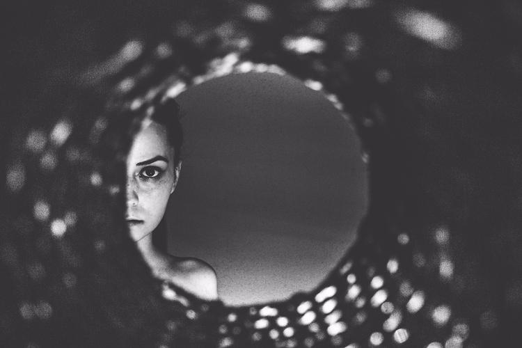 Follow - portrait, photography, blackandwhite - cataluna   ello