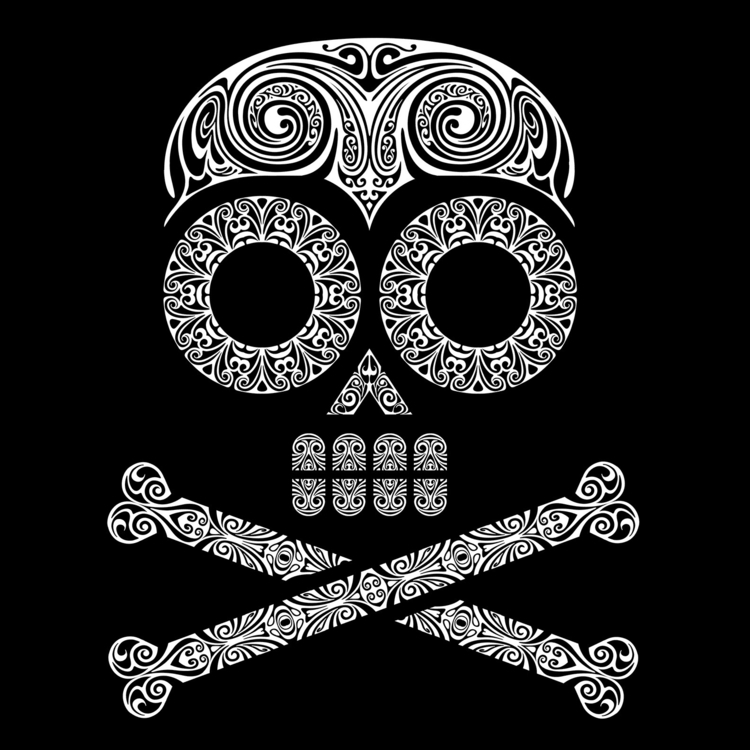 Nº 39 - endeth Hazard Week - skull - csilverman | ello