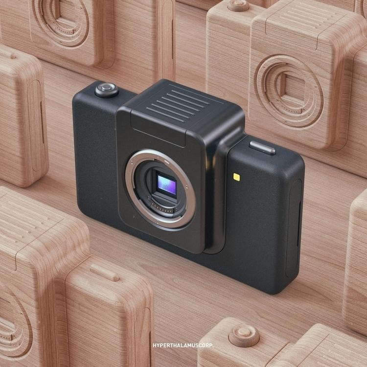 04.03.17 Camera - 3d, thea, c4d - conquestofninjacats | ello