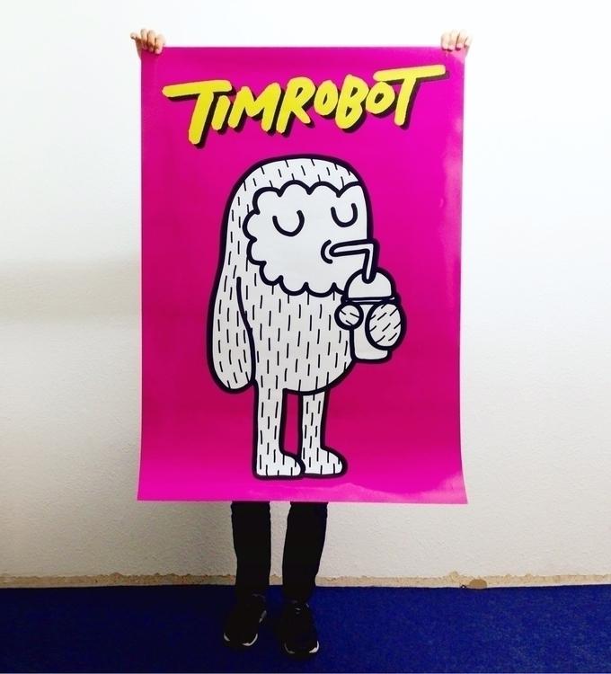 Testprint. A0 size - timrobot, poster - timrobot | ello