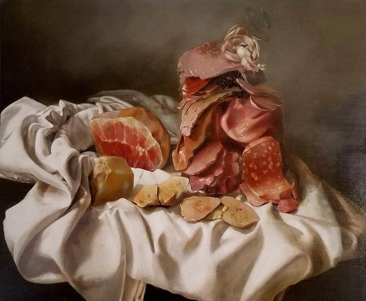 Finished meat pile St. Botolph  - nduennebier | ello