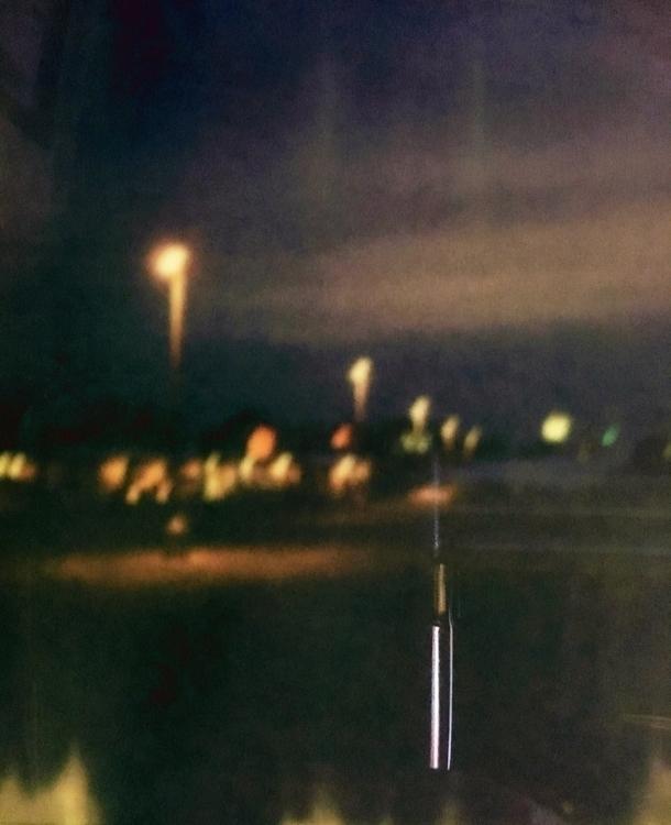 parking lot night Kalamarz - polaroid - jkalamarz | ello