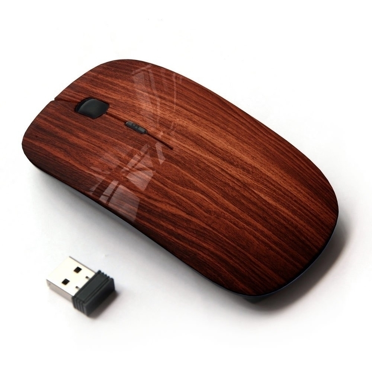 Wireless Mouse - wood, minimal, geek - unary | ello