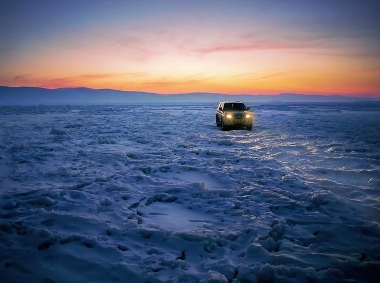Frozen Lake Baikal. — find brin - 8moments | ello