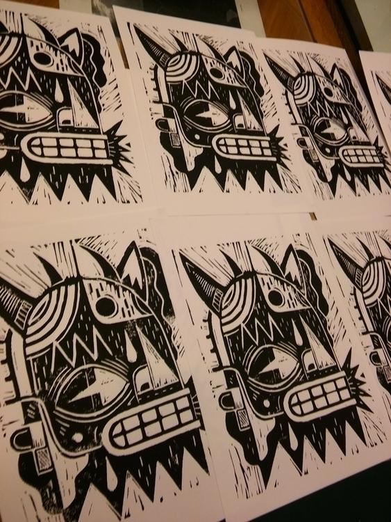 Lino printLinocut prints - paris - niark1 | ello