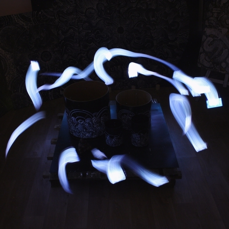 lightpainting shot 500 follower - yellabor | ello