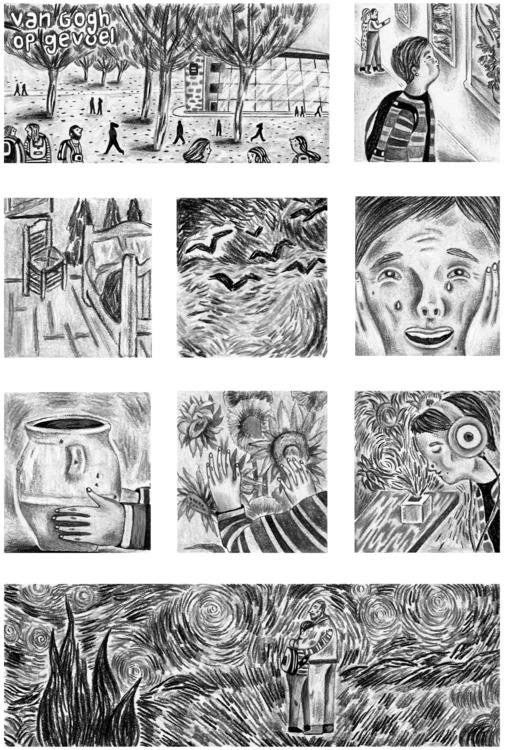 Feeling Van Gogh, Fanzine á la  - mvictoriarodriguez | ello