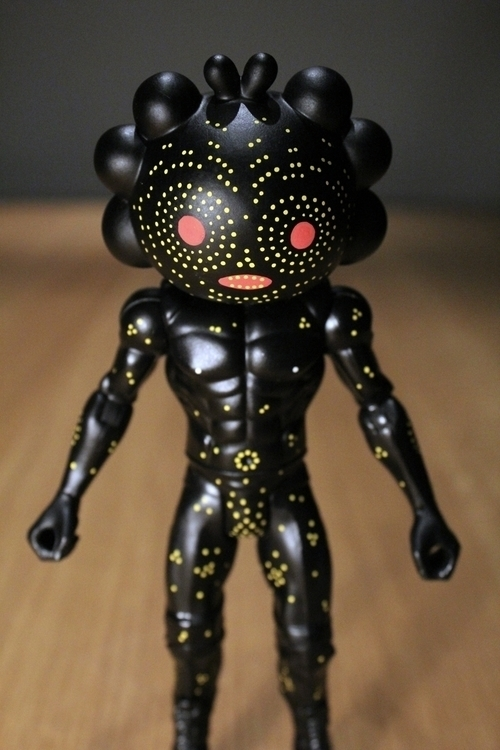 custom action figure.. head QiQ - cosmicnuggets | ello