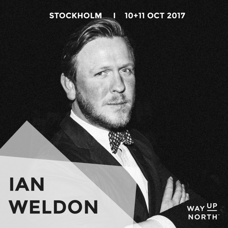 North Stockholm 2017 presenter - ianjweldon | ello