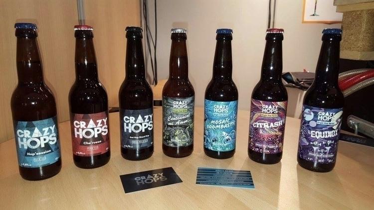 Beer labels Crazy Hops artisana - nathanael_mikles | ello