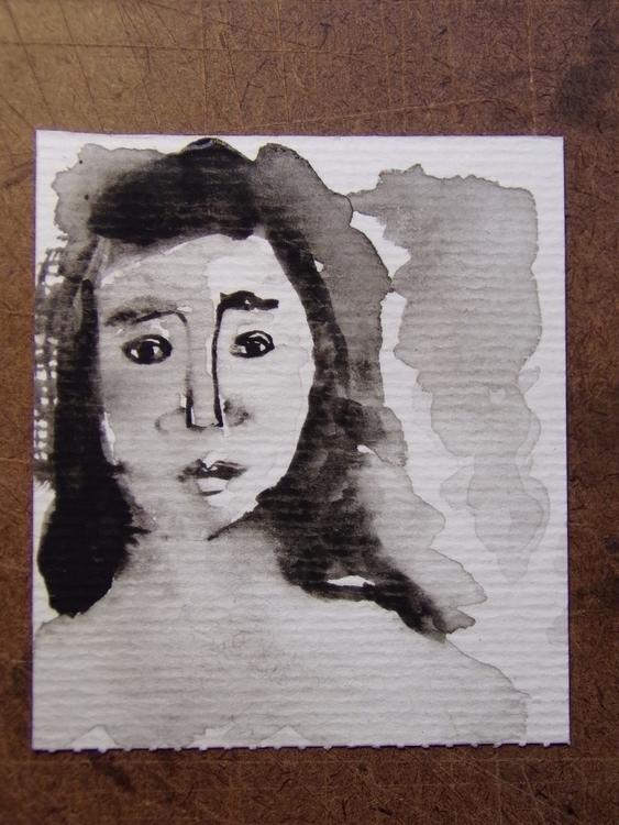 Pequeño retrato, II Acuarela 7 - mirtanruiz | ello