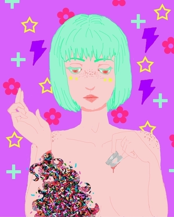 Sprinkles - surrealism, digital - thornicus | ello