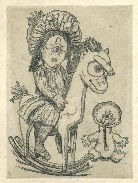 Rene Donais. Cyclopinette horse - renedo | ello