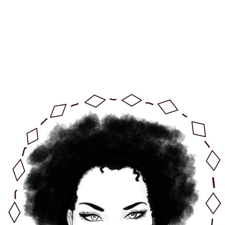 art, digitalart, feminism, blackandwhite - nadierivera | ello