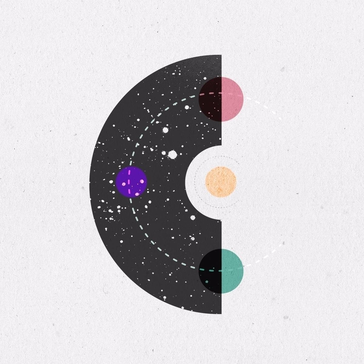 Cosmic - 36daysoftype04, 36days_c - llanwafu | ello