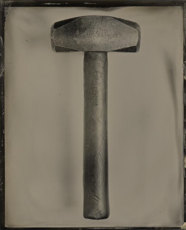 Hammer Time - tintype, wetplate - lacunha | ello