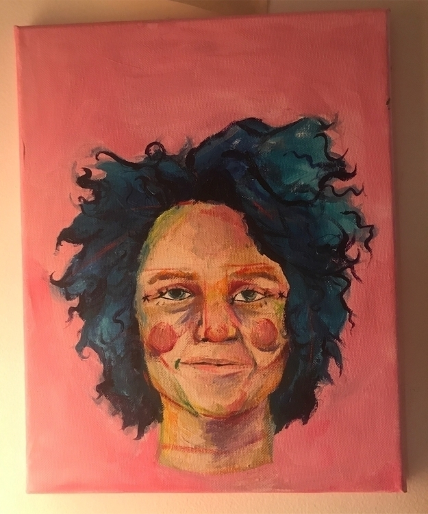 Clowning Acrylic paint - nrollo | ello