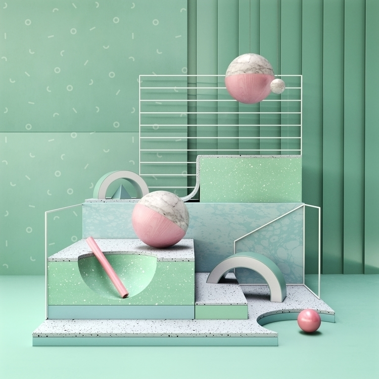3d, set, design, c4d, cinema4d - andreas_wannerstedt | ello