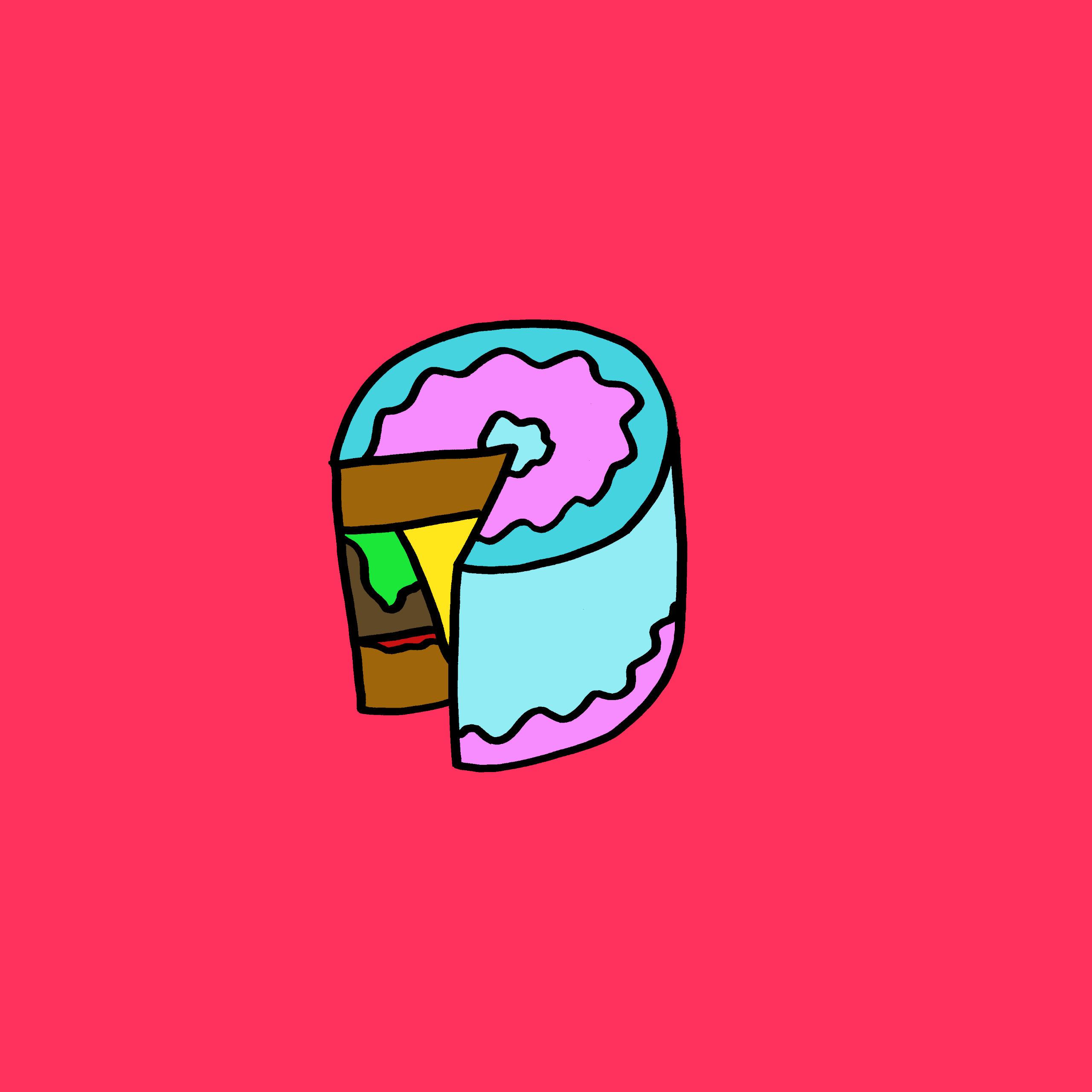Burger Cake - kingporteous | ello