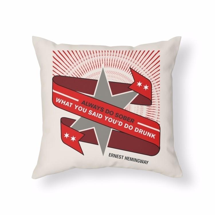 created typographic pillows tod - sevenmeg   ello