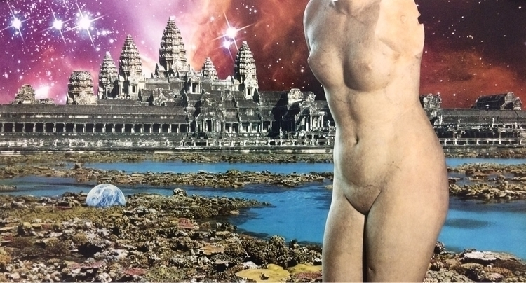 Vacation Destination - collage, surreal - williamgaylorpeters | ello