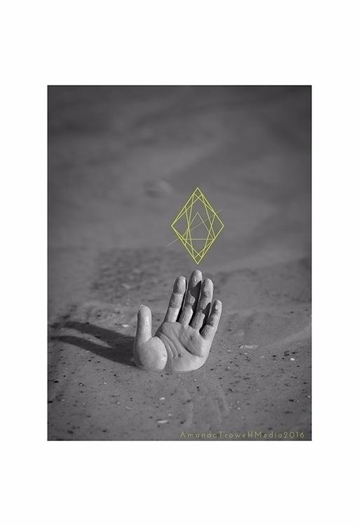 hand, sand, geometrics, photography - kittypawpie | ello