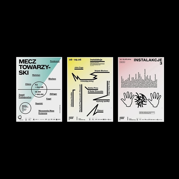 posters Instalakcje Music Festi - type2_design   ello
