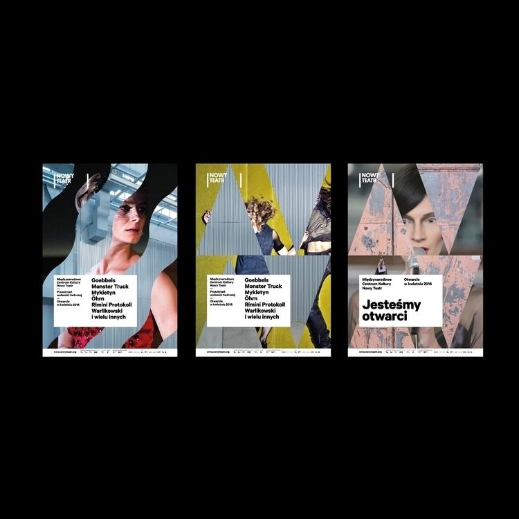 Poster series Nowy Teatr / Wars - type2_design   ello
