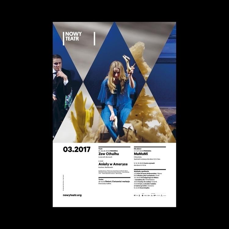 March Nowy Teatr - type2, nowyteatr - type2_design | ello