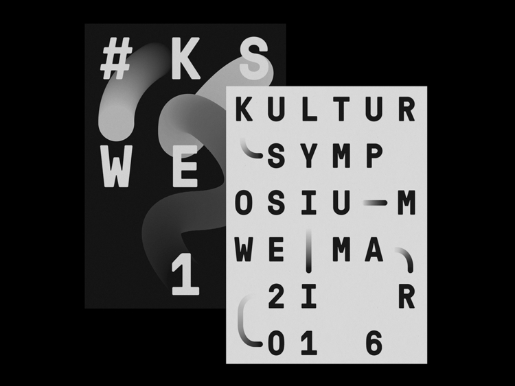 Brand identity Kultursymposium  - northeast   ello