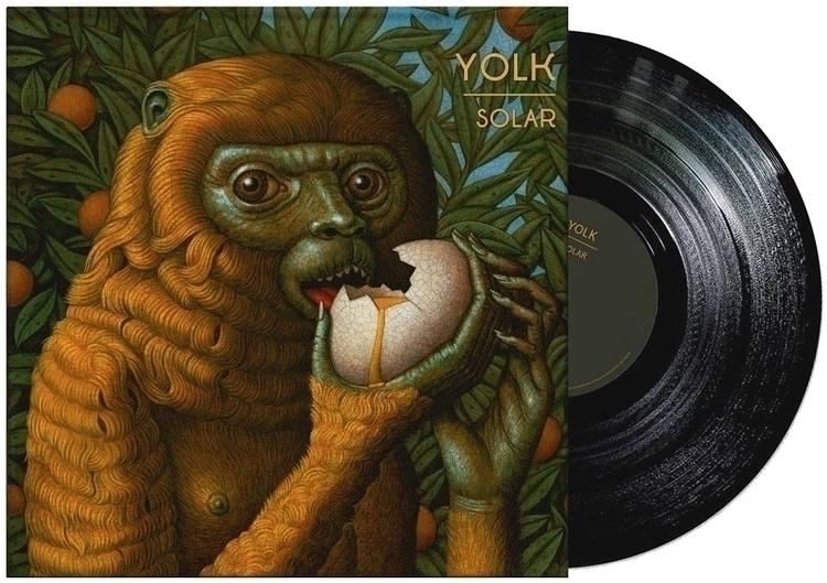 album cover Solar Yolk, featuri - marcburckhardt | ello