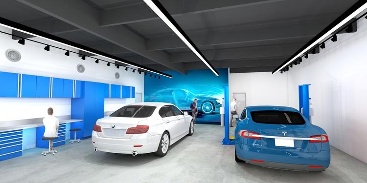 designing garage/showroom Delph - mochee_bonbons | ello