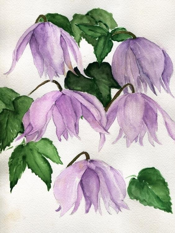 Garden Fairies Watercolor Cotto - havekat   ello
