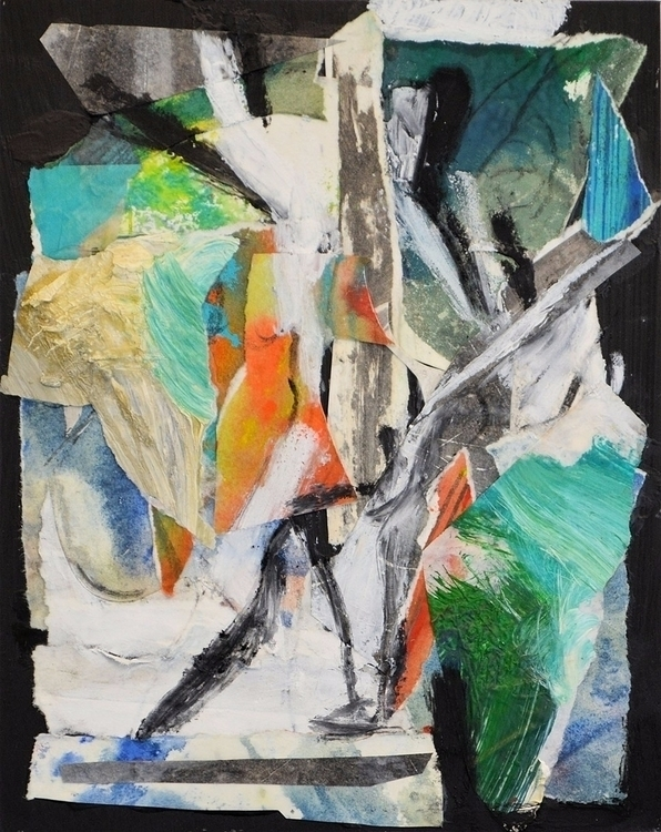 Joe Gegan - art, painting, collage - joegegan | ello