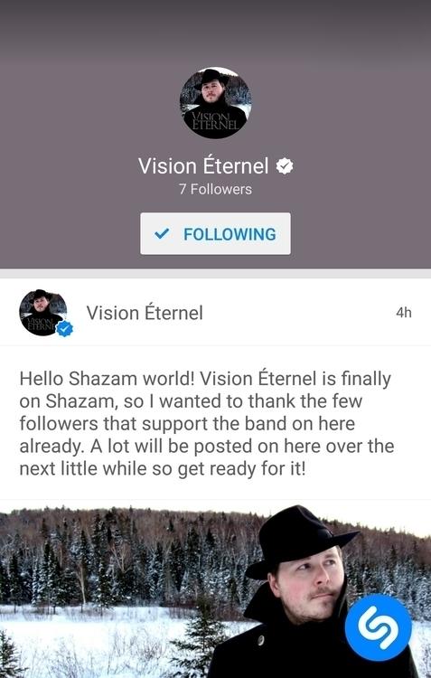 Vision Éternel Shazam! check ba - visioneternel | ello