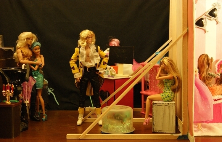 Scene 2 - backstage - arcanecognition   ello