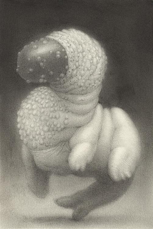Lump VII - drawing, graphite, creepy - nathanreidt | ello