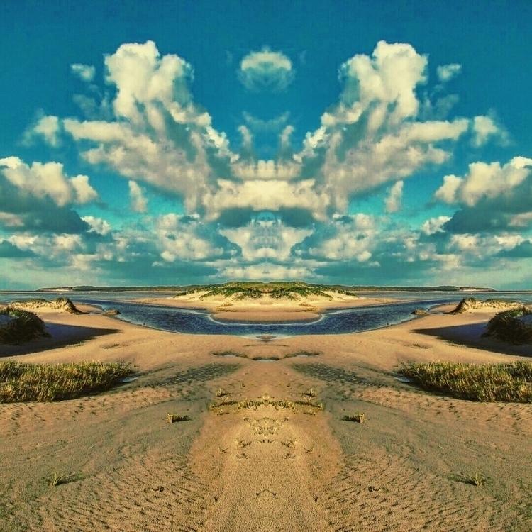 Mirroring Texel landscapes Mirr - marlonpaulbruin   ello