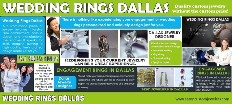 Wedding rings dallas start diam - dallasjewelers | ello