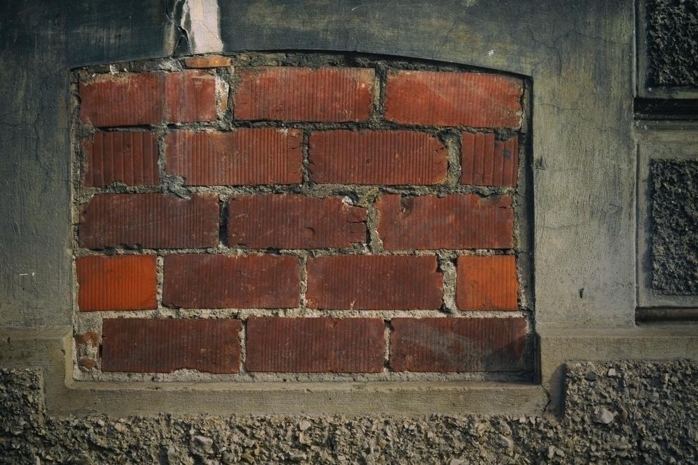 denial - photography, bricks, surface - marcushammerschmitt | ello