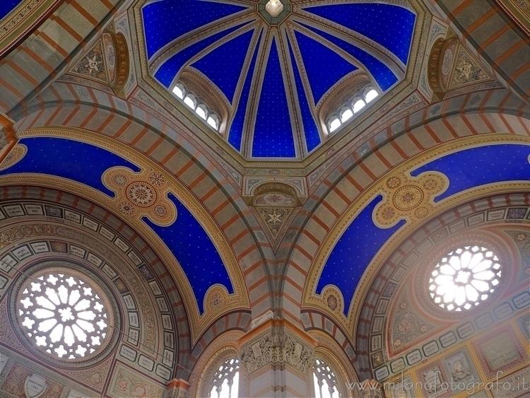 Milan (Italy): Ceiling Famedio - milanofotografo   ello