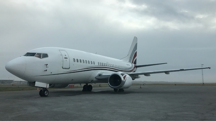 Boeing Businessjet reg på BLL - bllspotter - matias23   ello