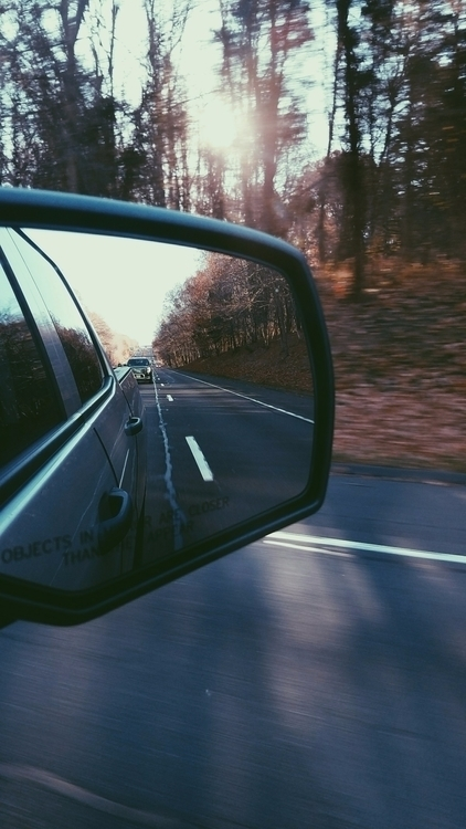 photography, driving, rearviewmirror - splendifer | ello